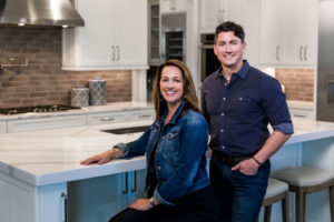 Shawn Starr, Owner and President of Starr Custom Homes, a custom home builder in Jacksonville FL, and Josie Myers