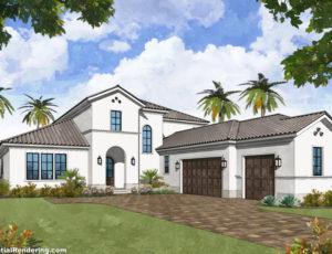 DreamDesign®46 Jacksonville custom home by Starr Custom Homes